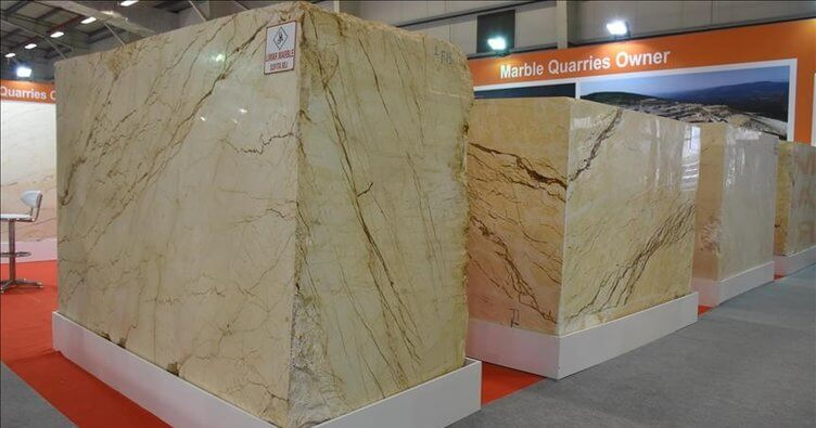The demand for block marble from India was drug in the sector